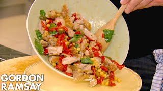 Gordon Ramsay's Deliciously Light Recipes   Home Cooking Full Episode