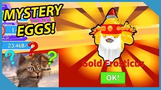 I OPENED THE *NEW* MYSTERY EGGS AND GOT THIS..   ROBLOX ICE CREAM SIMULATOR