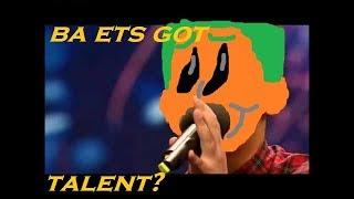 Roblox BA: ETS got talent?? Pumpkin meets Simon Cowell?
