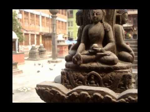 Shree Gha: A Buddhist Courtyard @ mid Kathmandu..