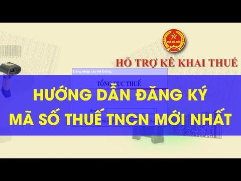 Hướng dẫn đăng ký mã số thuế thu nhập cá nhân mới nhất năm 2020