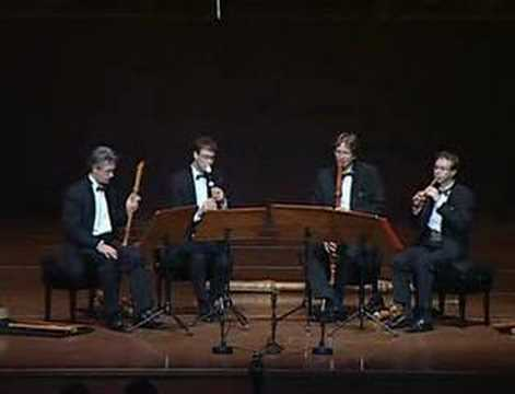 Flanders Recorder Quartet in concert - Merula