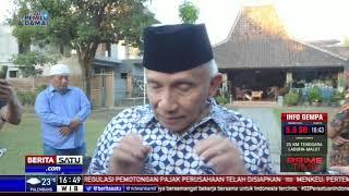 Amien Rais Belum Mau Komentari Pertemuan Jokowi dan Prabowo