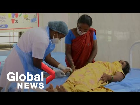 Authorities in India investigate mysterious illness after hundreds hospitalized