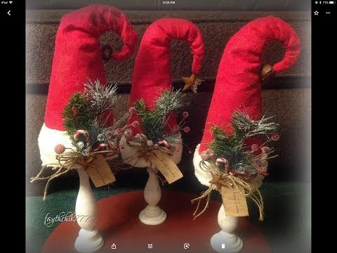 2018 Christmas Craft Bazaar Series: Vid #2: diy Santa Hat to make and sell