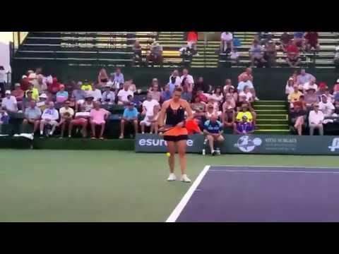 Carla Suarez Navarro v Anastasia Pavlyuchenkova   BNP Indian Wells Masters Series 2015 Part I