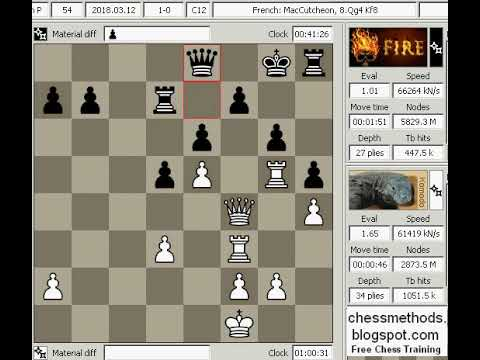 Chess Engine Game 40 Komodo2012 Vs Fire C12 Top Chess Engine season 11  Division p new
