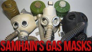 Обзор детских противогазов (ДП-6м, ПДФ-7, ПДФ-2ш) | Russian gas masks for children