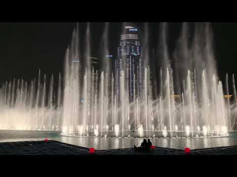 Dubai Fountain Show at Burj Khalifa 2019