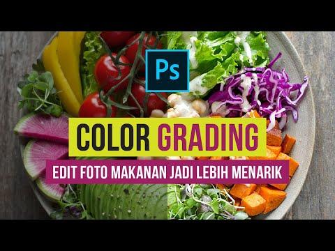 Cara Edit Warna Foto Makanan Jadi Lebih Bagus | Tutorial ...