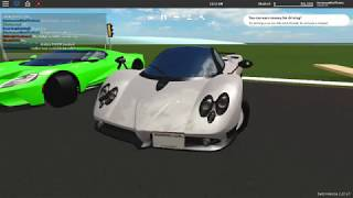 ROBLOX - I Bought my Dream Car! (2005 Pagani Zonda F) (ft. HRACH A)
