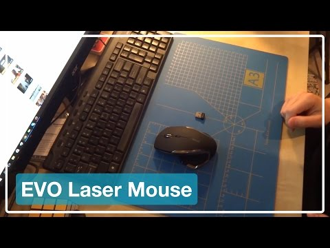 EVO Laser Mouse | Review (Dutch)