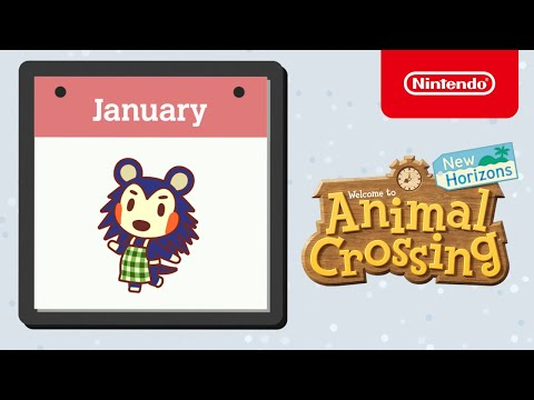 Animal Crossing: New Horizons - Exploring January