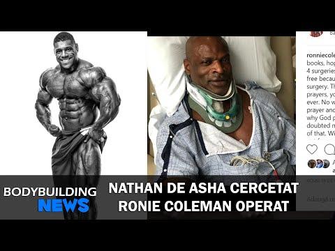 Nathan De Asha Cercetat | Ronnie Coleman alta operatie | Bodybuilding News #3