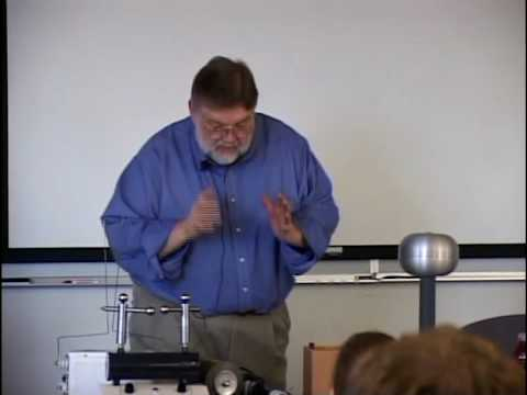 "Physics 220 - SP2010 - Lecture 19 - ""Arcs and Sparks"" by Mike Kelly"