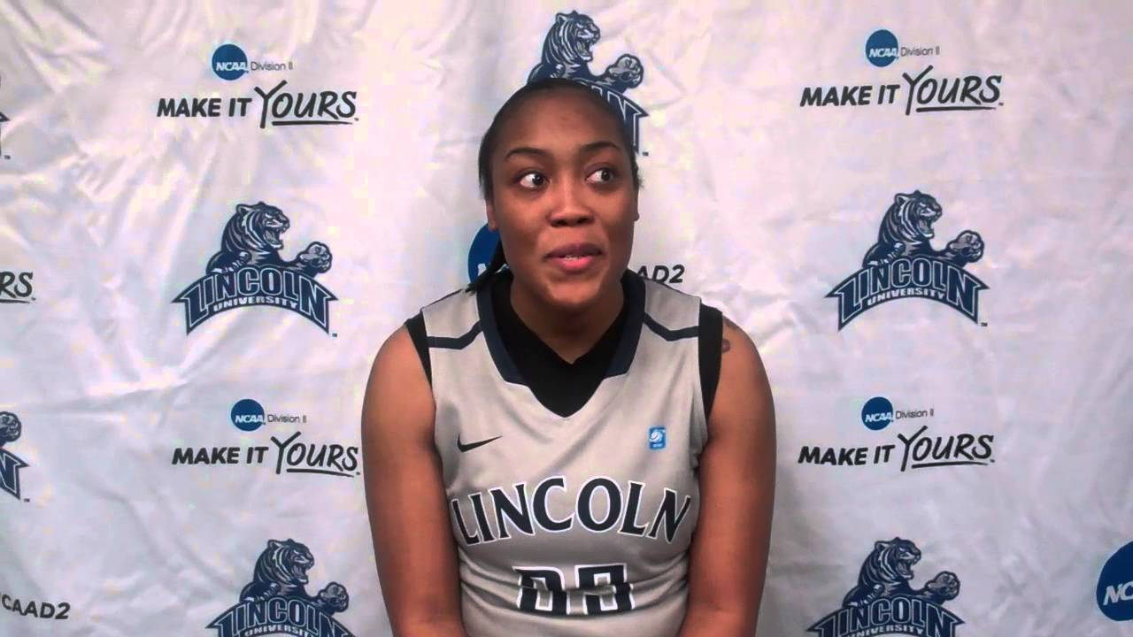 cadec0cb586 Postgame Reaction From Jasmine Guthrie (Lincoln (MO) vs. Northwest  Missouri