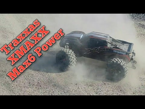 Hobbywing Max6 Powered Traxxas Xmaxx 8s