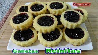 Galletas Reinitas receta facilita thumbnail