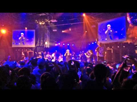 BUDDHA BRAND 「ブッダの休日」〜 PRIMAL feat.MEGA-G 「ブッダで休日」 @ SOUND MUSEUM VISION (2015.06.25)