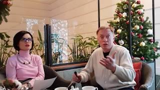 Репетиция интервью с Маргаритой Сусловой