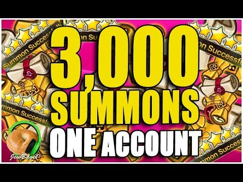 SUMMONERS WAR : 3,000 SUMMONS - THE BIGGEST SESSION OF ALL TIME!!!