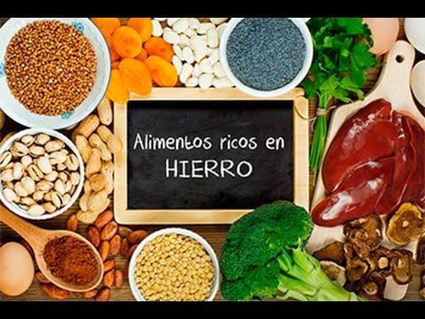 ¿Anemia? Alimentos Ricos en Hierro para Combatirla