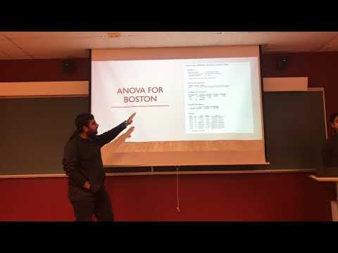 Probability and Statistics Project Presentation Video