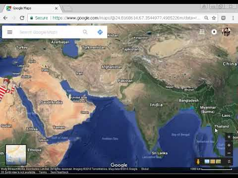 seeing bermuda triangle on google maps - YouTube