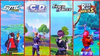 🔥 Super Mecha Champions VS Creative Destruction VS Cyber Hunter VS Ride Out Heroes 🔥 Comparison