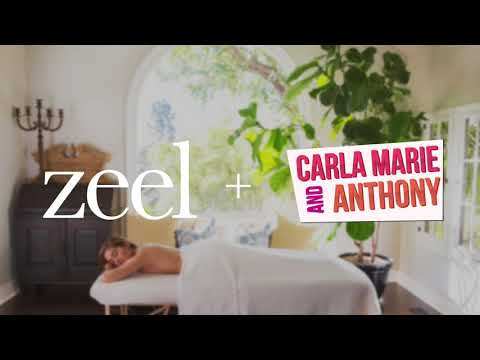 Carla Marie and Anthony on Getting In-Home Massages from Zeel