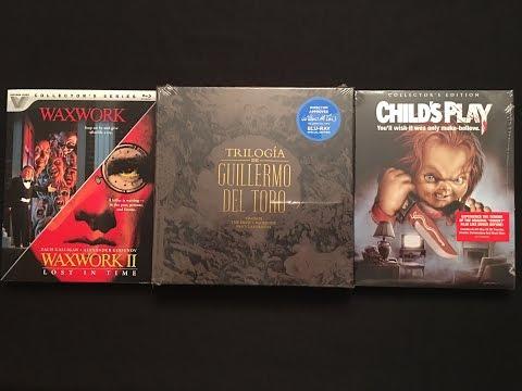 Trilogia De Guillermo Del Toro Criterion Blu-ray Unboxing With Child