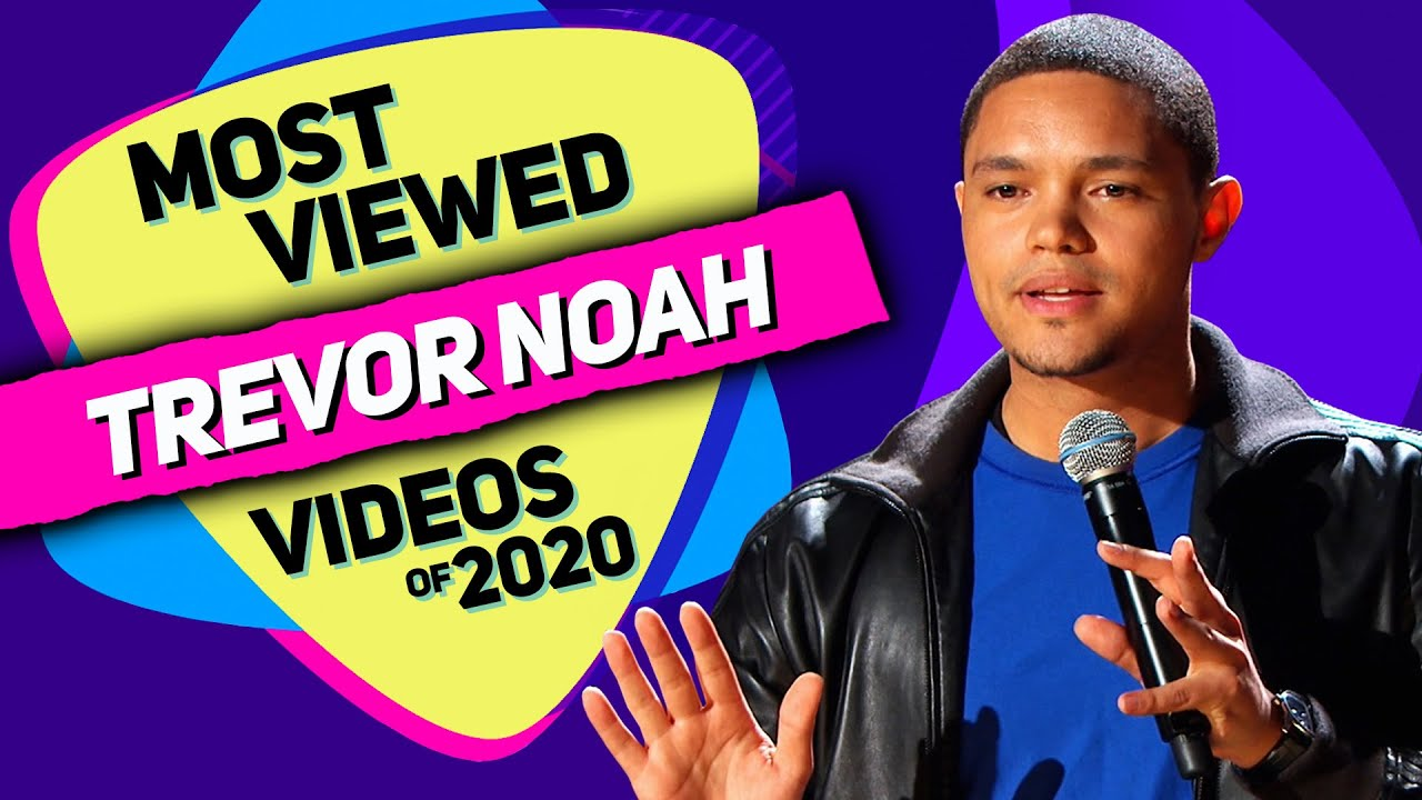 Download TREVOR NOAH - Most Viewed Videos of 2020 (Various stand-up comedy special mashup)