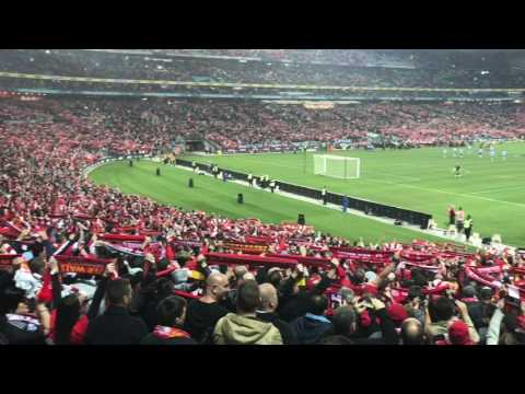 Liverpool FC fans singing you'll never walk alone 2017 in sydney
