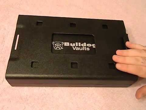 Bulldog Vaults pistol car safe review - YouTube