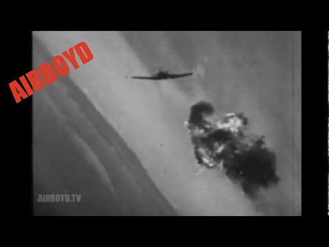 P-51 and P-38 Aerial Combat Footage (1945)