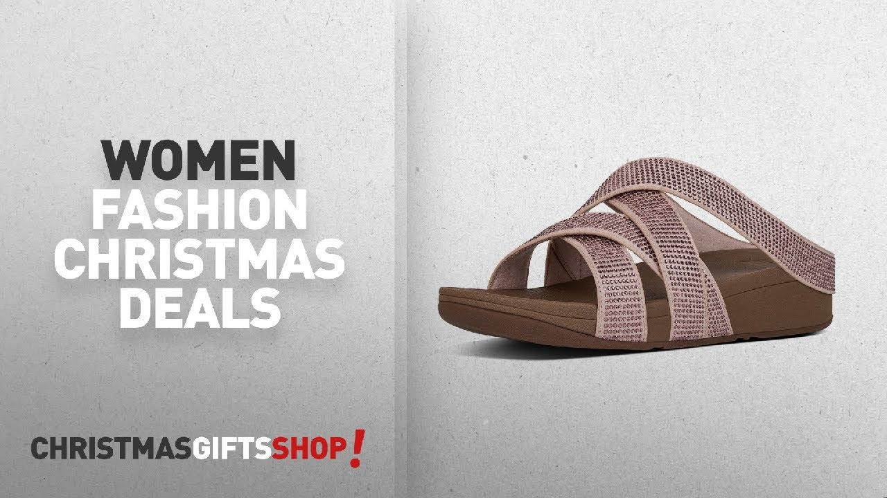 92a01bbb0c1d Up To 55% Off Women s Sandals  Fitflop Women s Slinky Rokkit Criss-Cross  Slide Open-Toe Sandals