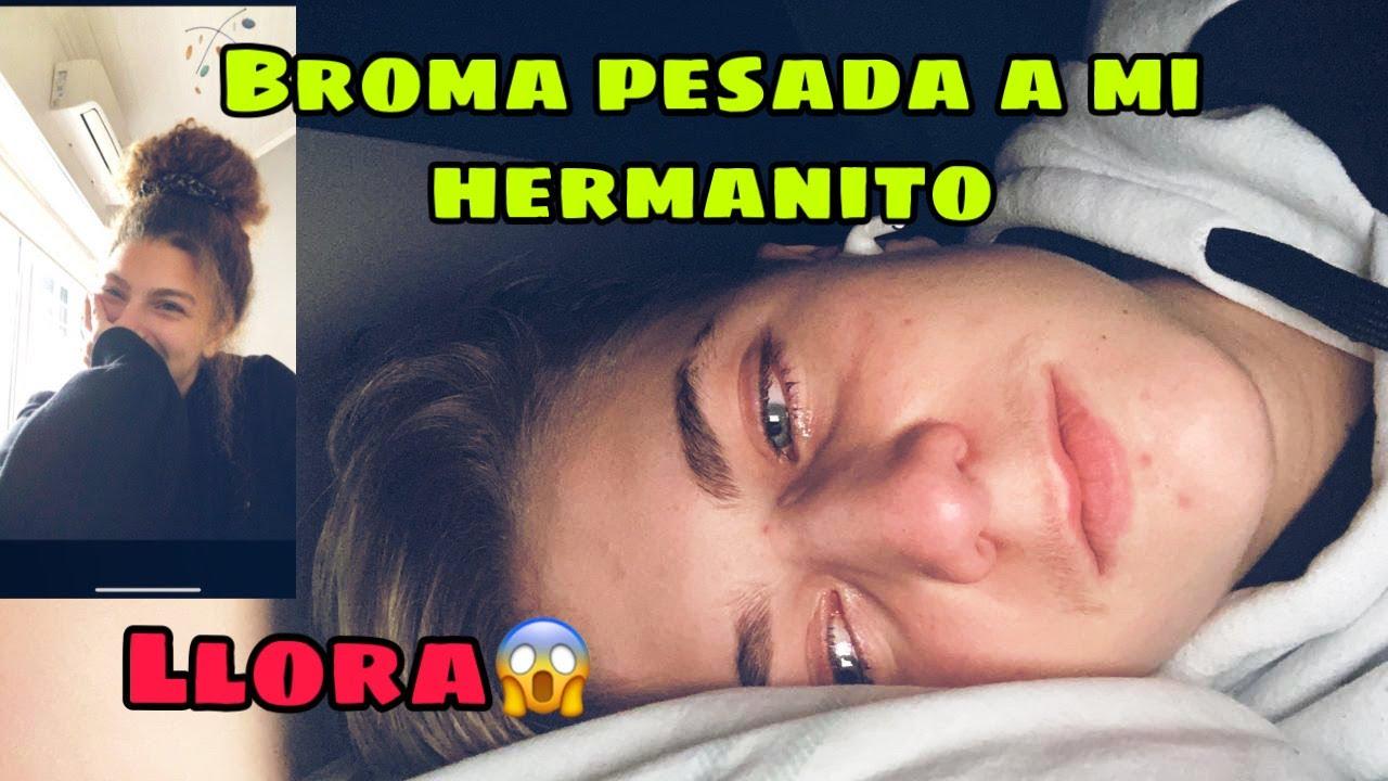 BROMA PESADA A MI HERMANITO TOTO ( LLORA )