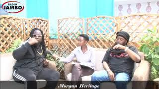 Morgan Heritage acknowledges Murang'a Senator and DJ Kang'ata