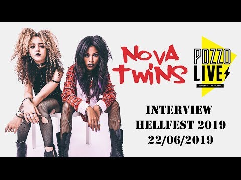 Nova Twins Interview at Hellfest 2019 - French Sub