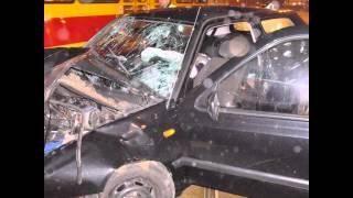 2014.05.31 Policja znów próbuje zabijać.Pod mendownią miejską.Sienkiewicza-Tuwima