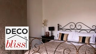 Top 5 Tips For Styling A Metallic Bedroom | Real Home Lookbook S7e/8