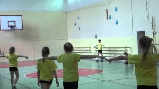 урок физкультуры учитель Замыслова часть1