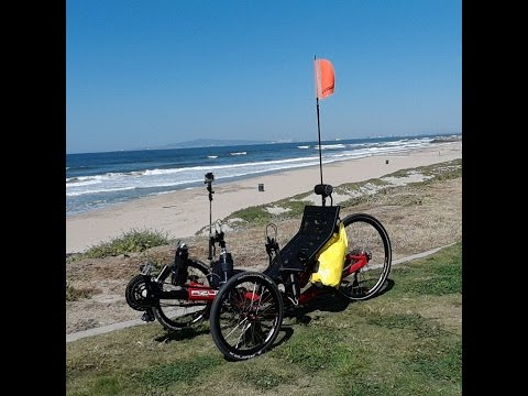 TRIKE RIDE 3-31-2017. Long Beach to Newport Beach, CA