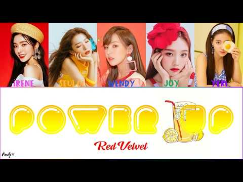 Red Velvet (레드벨벳) - 'Power Up' COLOR CODED LYRICS (Han/Rom/Eng)