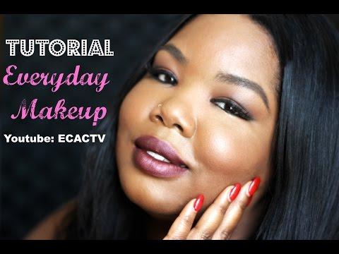 Everyday Makeup Look ( Brown Skin )