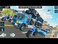 US Police Monster Truck Transport Ship Simulator (Brilliant Gamez) | Android Gameplay