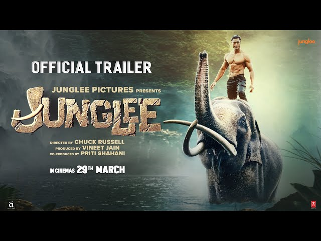 Junglee Official Trailer | Vidyut Jammwal, Pooja Sawant & Asha Bhat | Chuck Russell | 29th Mar 2019