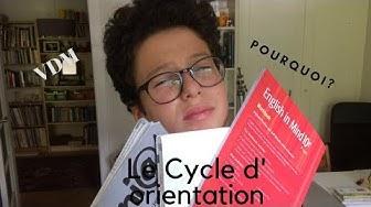 NOE -  LE CYCLE D' ORIENTATION