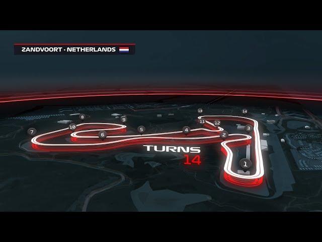 Zandvoort 3D Circuit Guide | Dutch Grand Prix