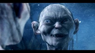 Lord of the Rings (HD) - Gollum / Smeagol talks to his reflection in river 99